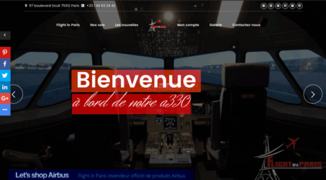flightinparis.com